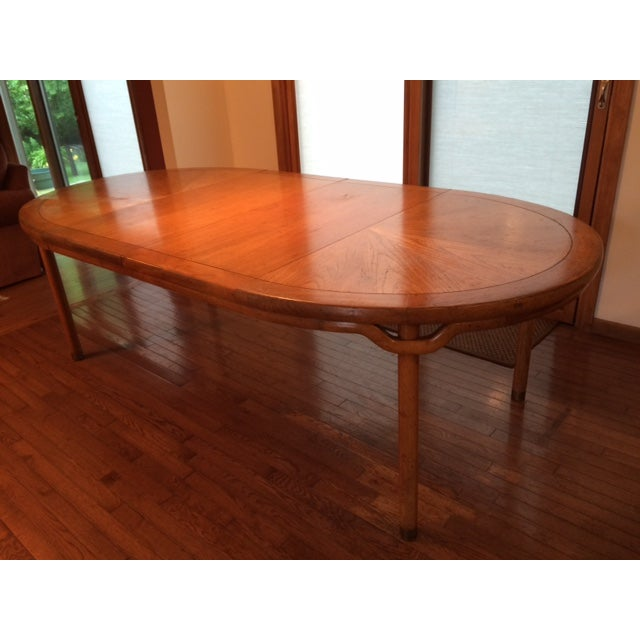 Baker Asian-Style Canadian Elm Table - Image 2 of 6