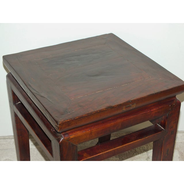 Chinese Ming Style Zitan Wood Table - Image 4 of 11