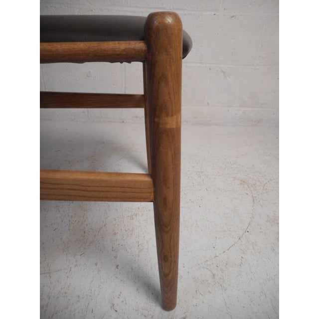 Vintage Modern Wegner Style Wishbone Chair For Sale - Image 11 of 13