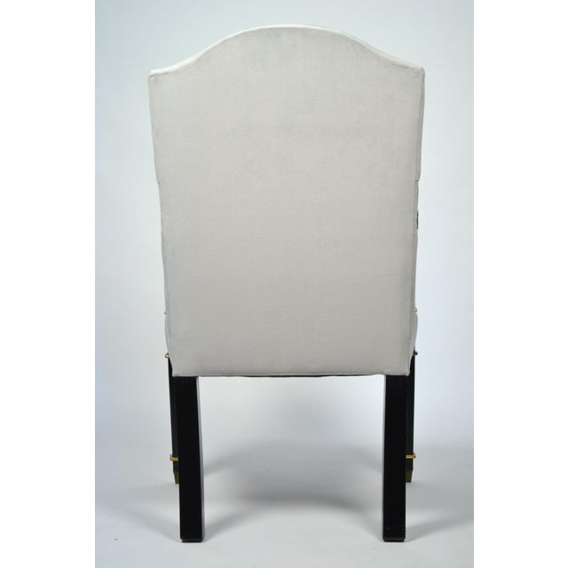 Pair of French Restoration Armchairs For Sale - Image 5 of 9