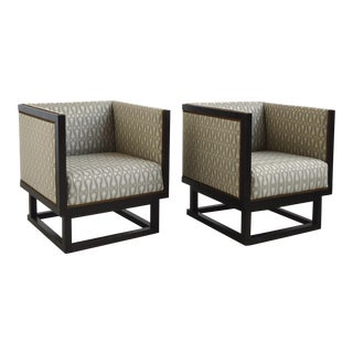Josef Hoffmann Pair of Cabinet Chairs For Sale