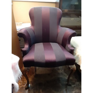 Moving...bids Welcome 1980s Vintage Southwood Wing Chair Preview
