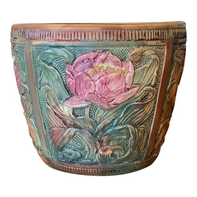 Weller Flemish Ceramic Cachepot For Sale