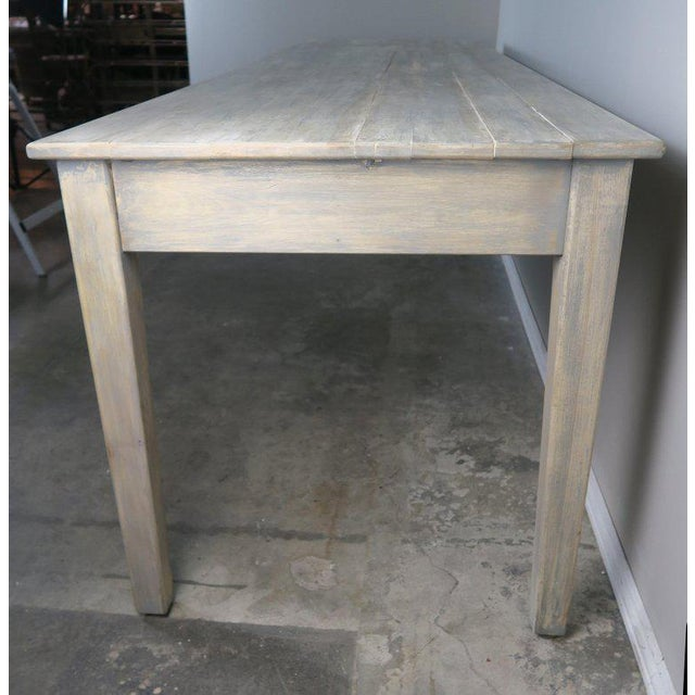 Wood Swedish Painted Farm Table, Circa 1900 For Sale - Image 7 of 11