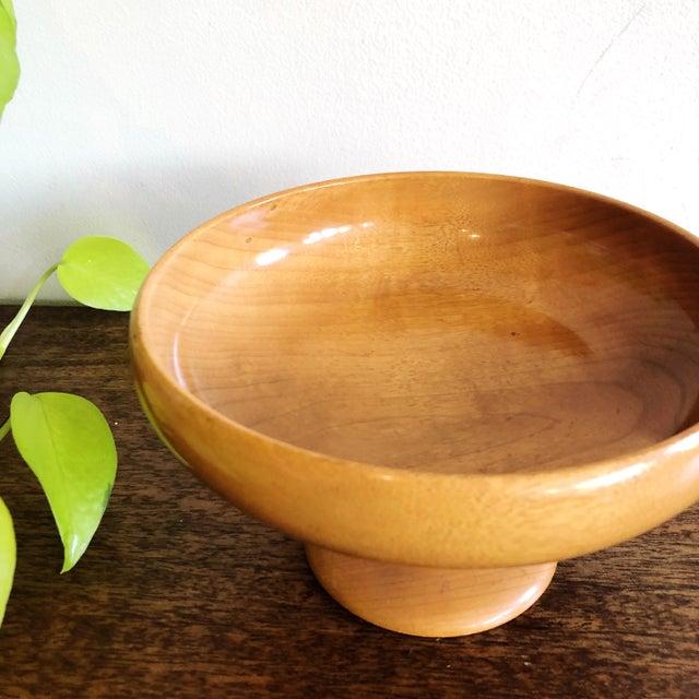 Mid-Century Myrtlewood Bowl For Sale - Image 4 of 6