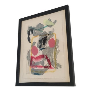 Abstract Textural Polystyrene Painting For Sale