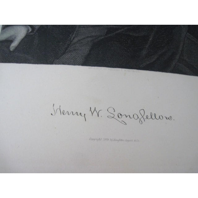 Leather The Poetical Works of Henry Wadsworth Longfellow Illustrated For Sale - Image 7 of 13