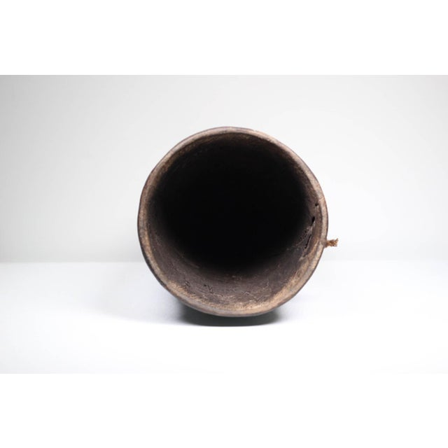 Early 20th C. Phillipino Betel Nut Wood Vessel For Sale - Image 5 of 5