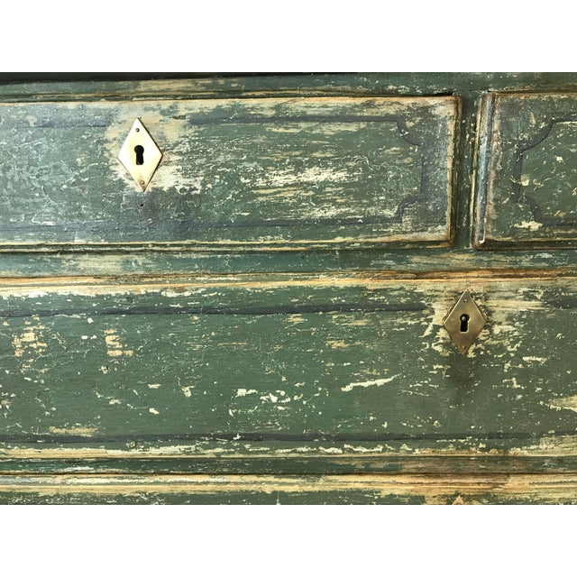 French 18th-c. Commode w/ Original Paint For Sale - Image 4 of 10