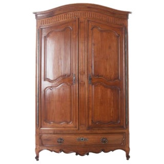 French 19th Century Cherry Armoire From Bordeaux For Sale