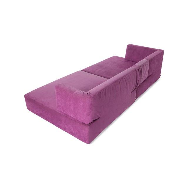 Francesco Binfare Edra l'Homme Et La Femme Modular Sofa by Francesco Binfaré For Sale - Image 4 of 11