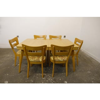 1960s Mid-Century Modern Heywood Wakefield Dining Set - 7 Pieces Preview