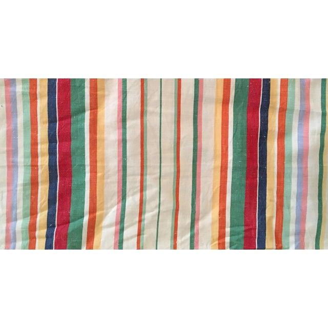 "Ralph Lauren ""Didier Stripe"" Cotton Linen Fabric - 7.5 Yards in 2 Pieces - Image 3 of 3"