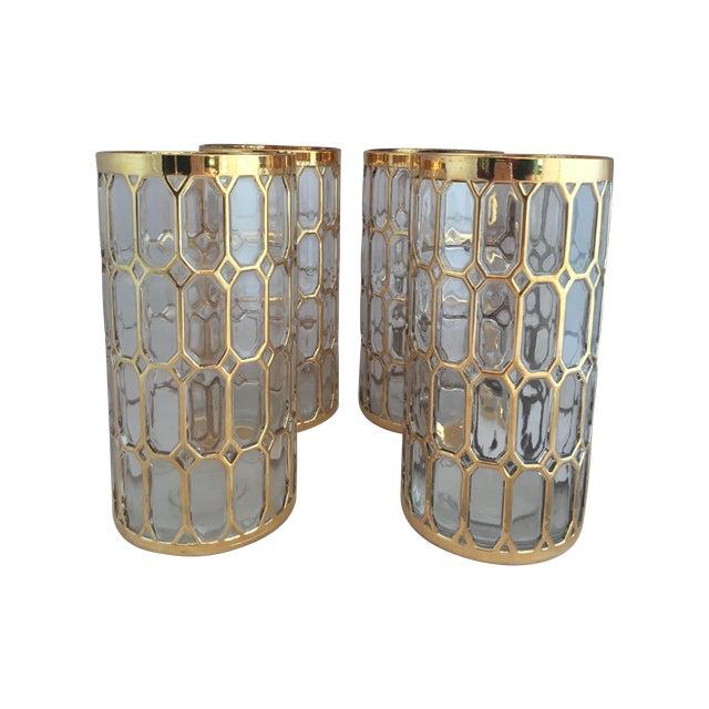Shoji Spanish Window Highball Glasses - Set of 4 - Image 1 of 3