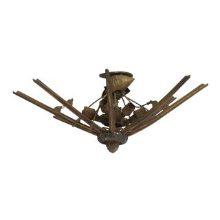 American Theater Light in Restorable Condition For Sale