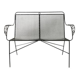 Woodard Garden Patio Settee Loveseat Bench For Sale