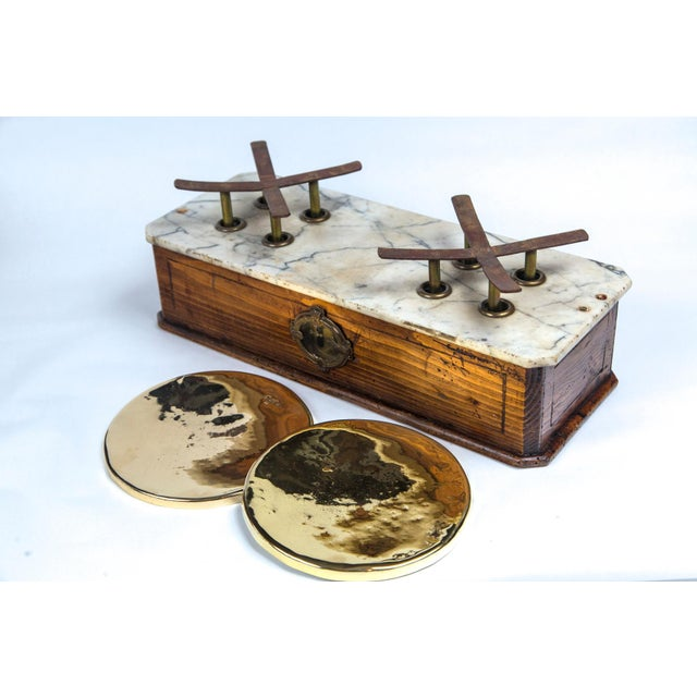 Marble Top Bakery Scale, France, Late 19th Century For Sale - Image 10 of 11