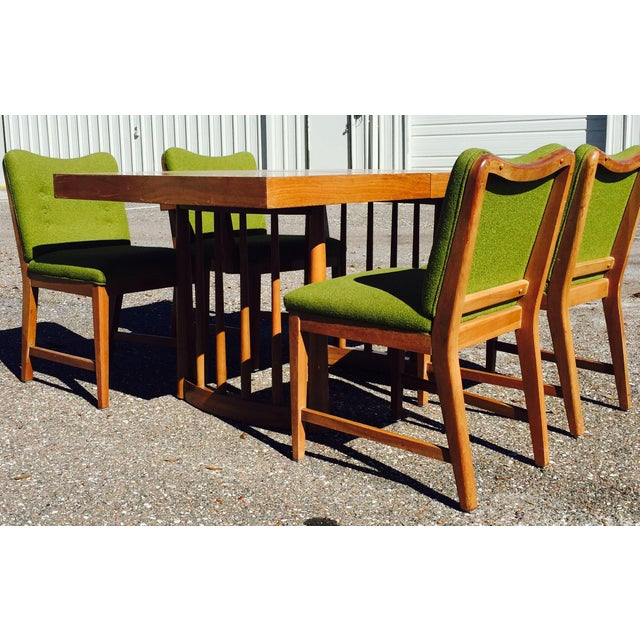 Dining Set Attributed to Paul Laszlo For Sale - Image 9 of 10