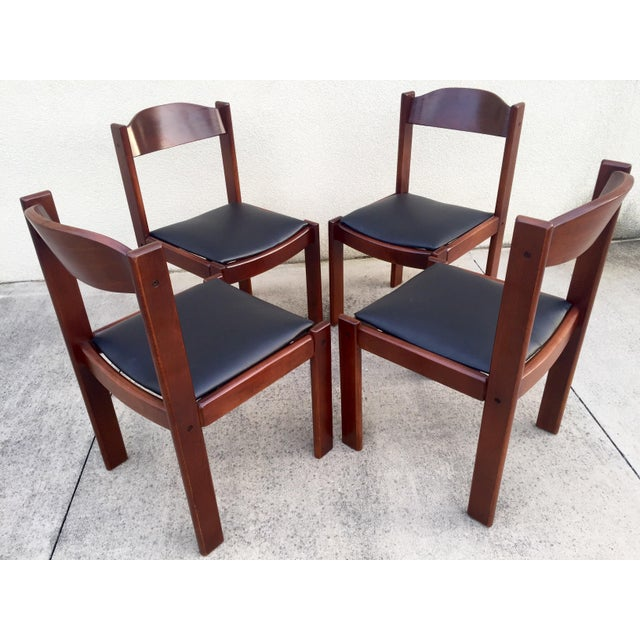 Restored Mid-Century Modern Dining Chairs - 4 - Image 3 of 8