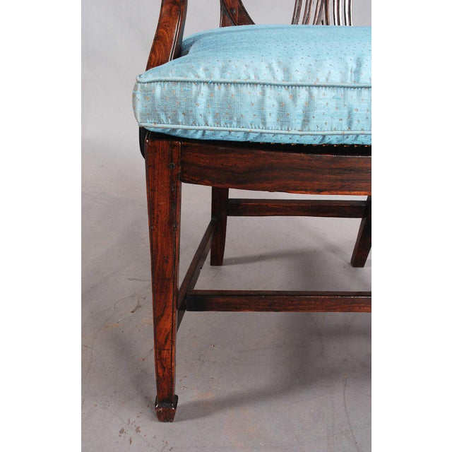 19th Century Rosewood Armchairs - a Pair For Sale - Image 6 of 9