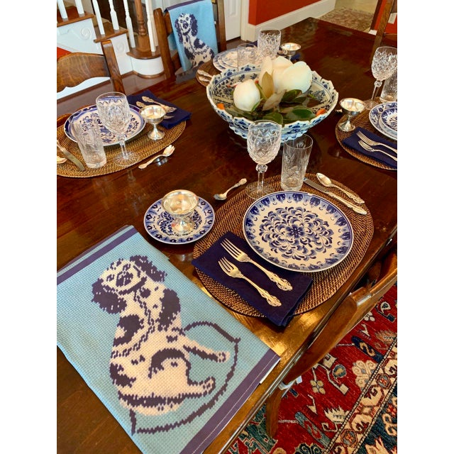 Posh custom tea towels bring a touch of English royalty to your kitchen. Wonderful for hand-drying your heirloom china,...