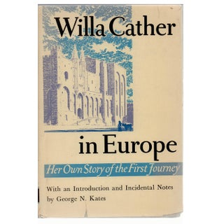 Willa Cather in Europe: Her Own Story Book For Sale