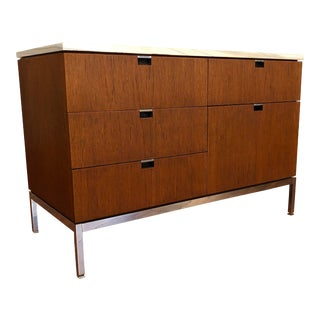 Marble Top Florence Knoll for Knoll Credenza For Sale
