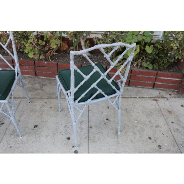 Venemen Outdoor Cast Iron Patio Set For Sale - Image 10 of 13