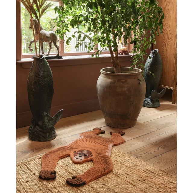 Not Yet Made - Made To Order Doing Goods Oddly Orangutan Rug Small For Sale - Image 5 of 6