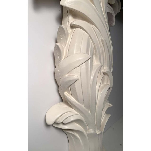 Vintage Plaster Console in manner of Serge Roche For Sale - Image 12 of 13