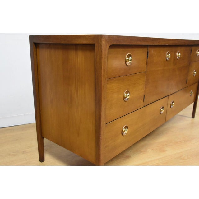 Mid-Century Modern John Van Koert for Drexel Counterpoint Credenza For Sale - Image 3 of 11