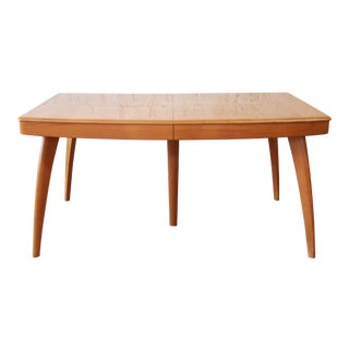 Vintage Heywood Wakefield Mid-Century Modern Extension Table For Sale