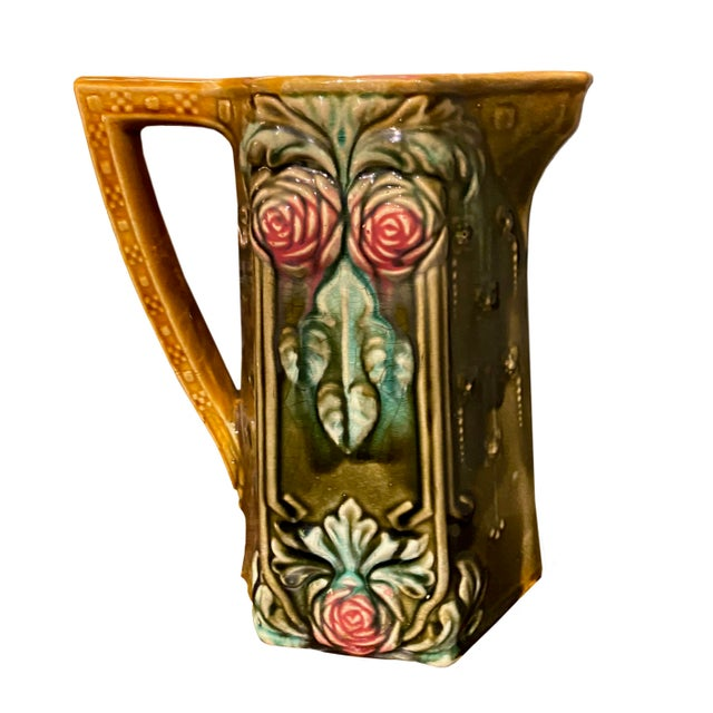 18th Century French Majolica Pitcher For Sale In Dallas - Image 6 of 6