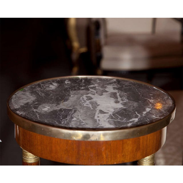 19th Century Marble Top Pedestals - Pair - Image 6 of 8