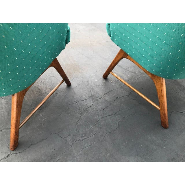 Mid Century Pearsall Style Chairs- Set of 3 For Sale - Image 12 of 13