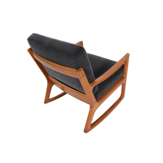 Ole Wanscher Teak Senator Rocking Chair - Image 4 of 8