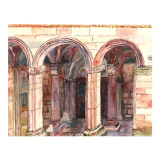 Arches Watercolor Painting, C. 1960