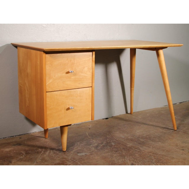 1960s Mid-Century Modern Paul McCobb Planner Writing Desk For Sale - Image 11 of 11
