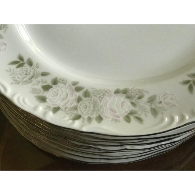 Sheffield Classy ,Vintage Sheffield Fine China Classic 501 ,Reduced Set for 11 For Sale - Image 4 of 11