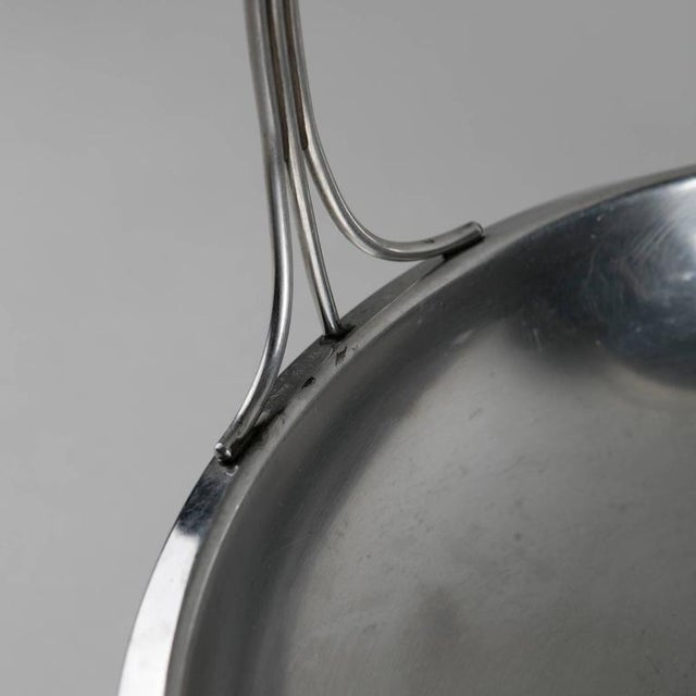 Arthur Krupp Set of Three Steel Baskets by Gio Ponti for Arthur Krupp, Milano For Sale - Image 4 of 6