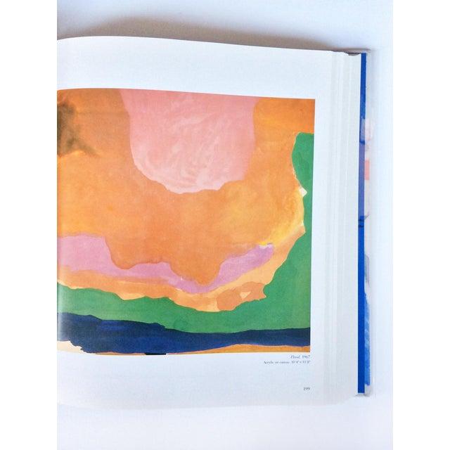 Blue Signed Helen Frankenthaler Monograph Book For Sale - Image 8 of 10