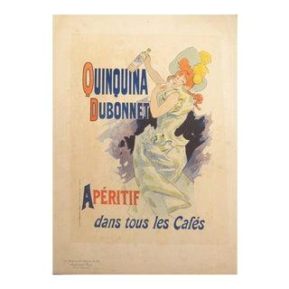 1897 Original Art Nouveau Maitres De L'Affiche, Quinquina Dubonnet Pl.210 - Cheret