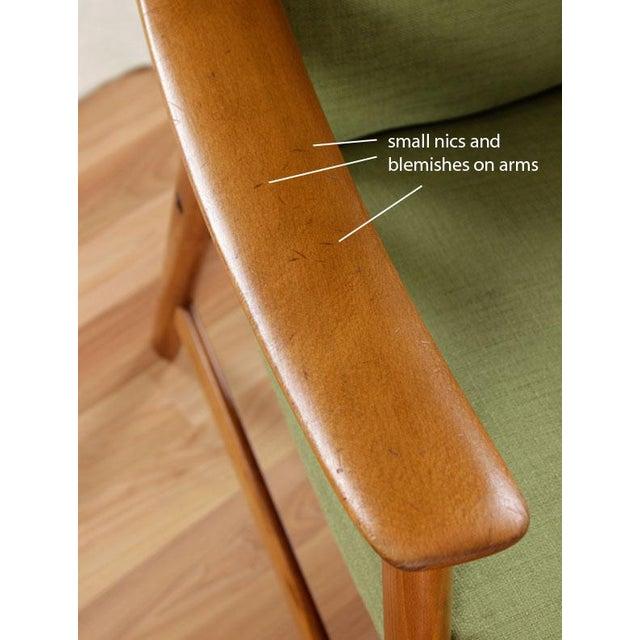 Mid-Century Modern Dokka Mobler Restored Arm Chair - Image 10 of 10