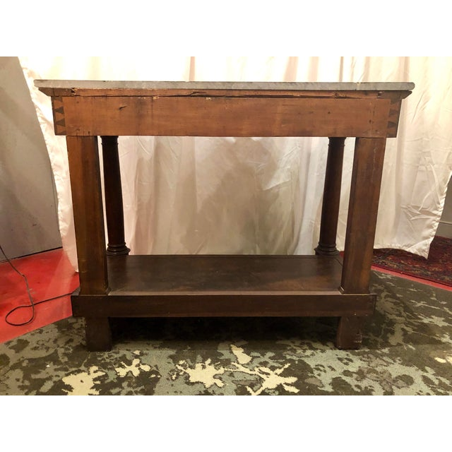 Empire French Empire Country Console For Sale - Image 3 of 12