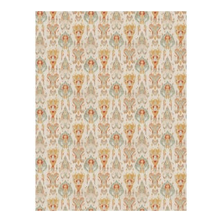 "Mill Creek's ""Module"" Ikat in ""Desert Storm"" Fabric - 3.5 Yards For Sale"