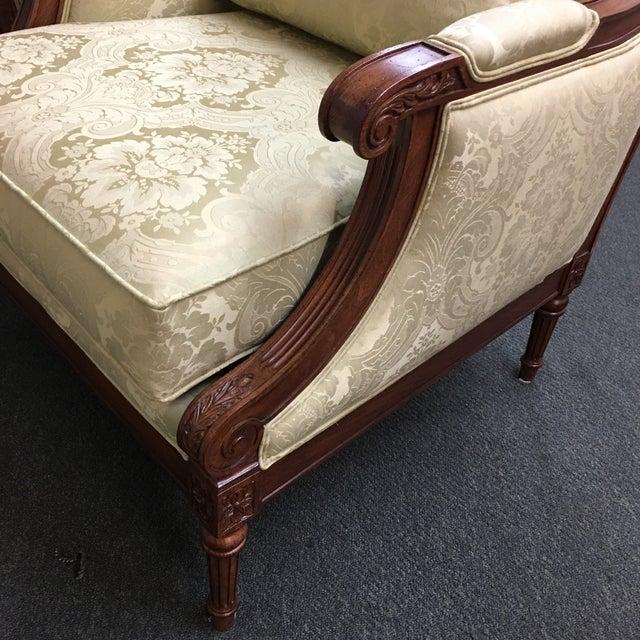 Ethan Allen Fairfax Arm Chairs - A Pair - Image 8 of 11