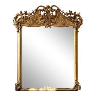 Louis XVIII Giltwood Mirror For Sale