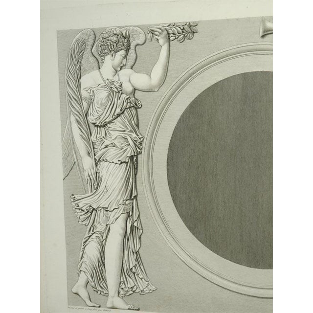 Early 19th Century Prints of the Louvre by Baltard - Set of 4 For Sale - Image 4 of 10