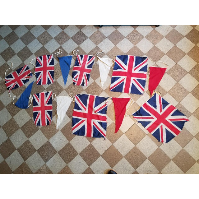 Coronation Flag Bunting For Sale - Image 5 of 5