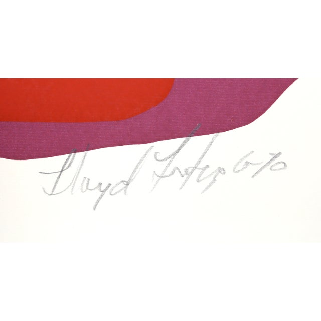 Artist: Lloyd Fertig, American (1943 - 1995) Title: Untitled 9 Year: 1970 Medium: Serigraph, signed and numbered in pencil...